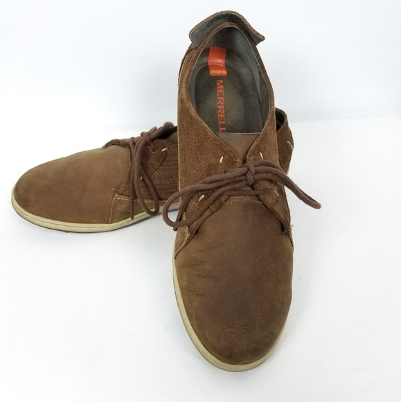 ed0153e8e106 Merrell Ashland Tie Shoes